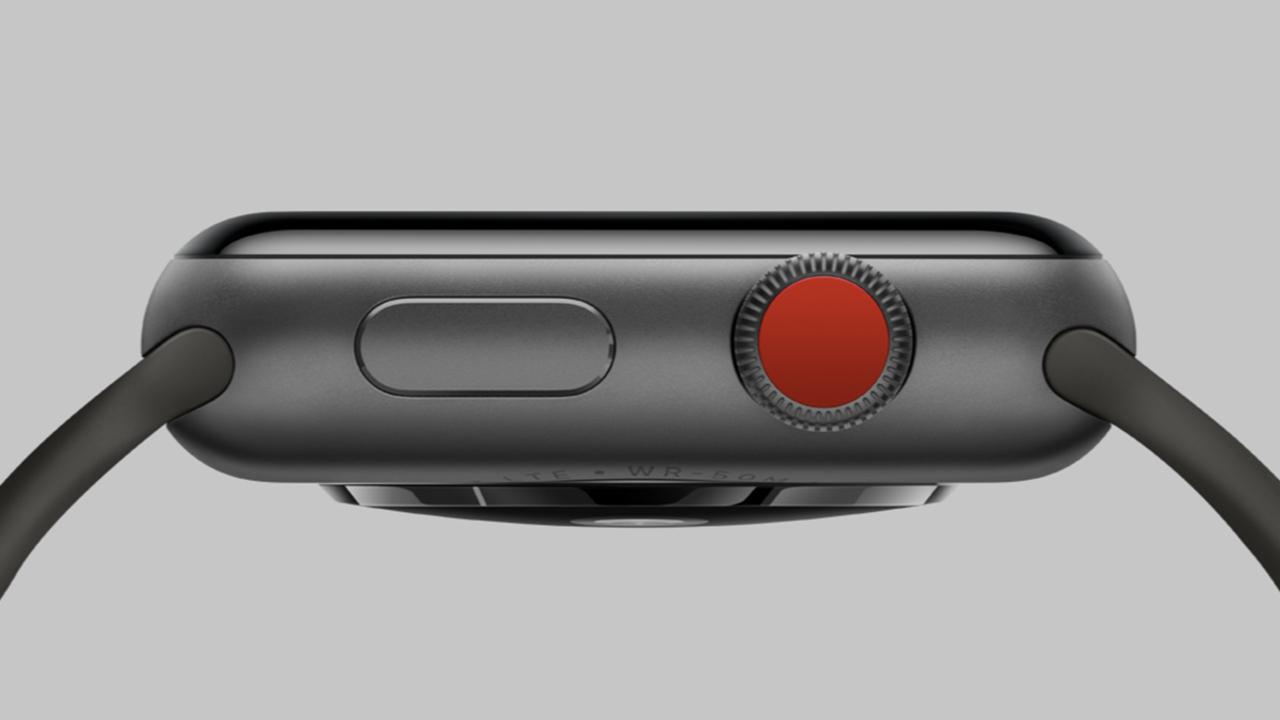 新型Apple Watchでは、サイドボタンとりゅうずがタッチセンサー方式に?