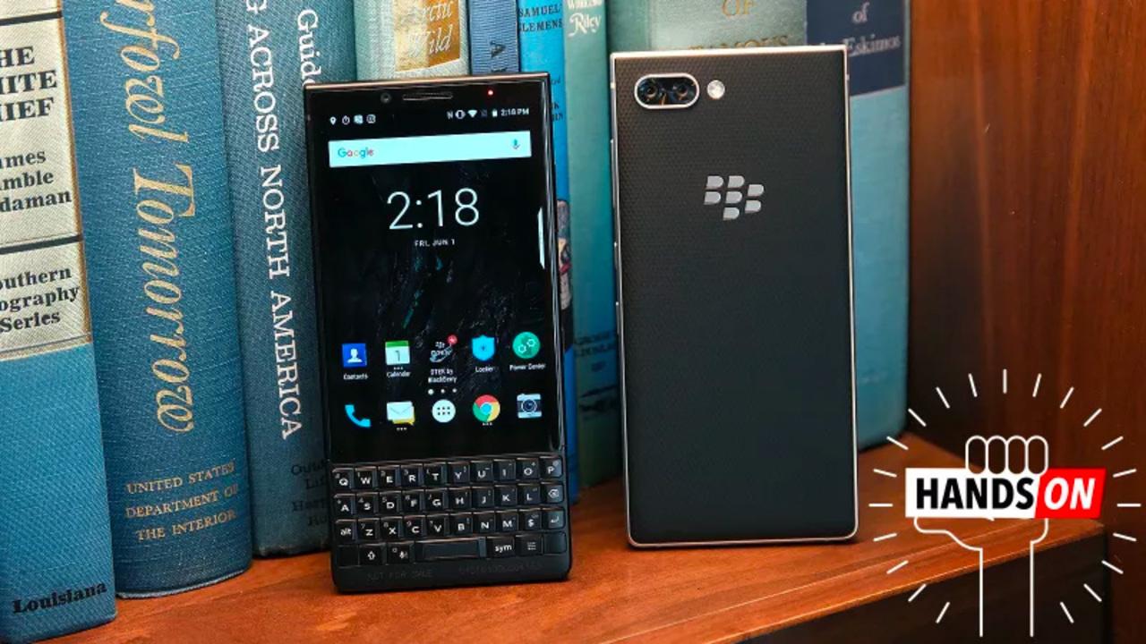 BlackBerry Key2ハンズオン:我が道を行くのがベスト