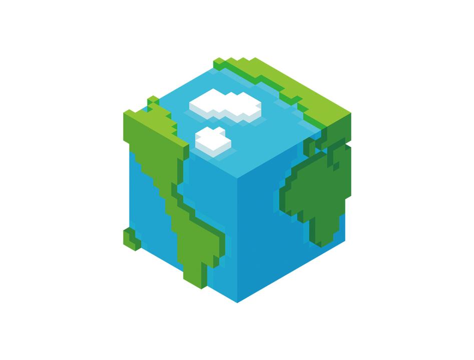 地球の生きとし生けるものを、炭素換算量に基づいたインフォグラフィックで比べてみる