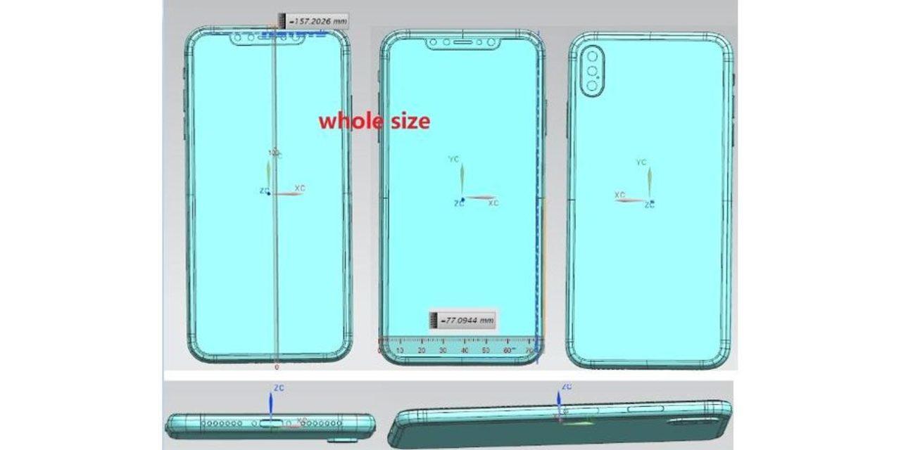これが新型iPhoneの図面? デュアルカメラか、あるいはトリプルか