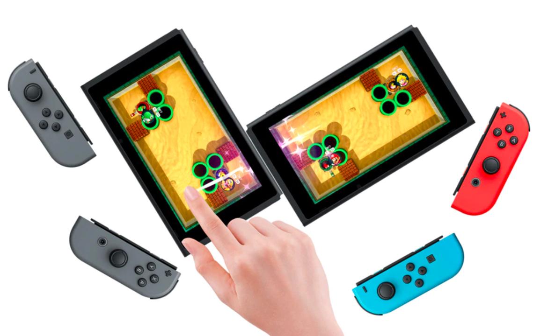 スイッチ版『スーパーマリオパーティ』に驚きの機能、 2台のニンテンドースイッチの画面を繋げられる!