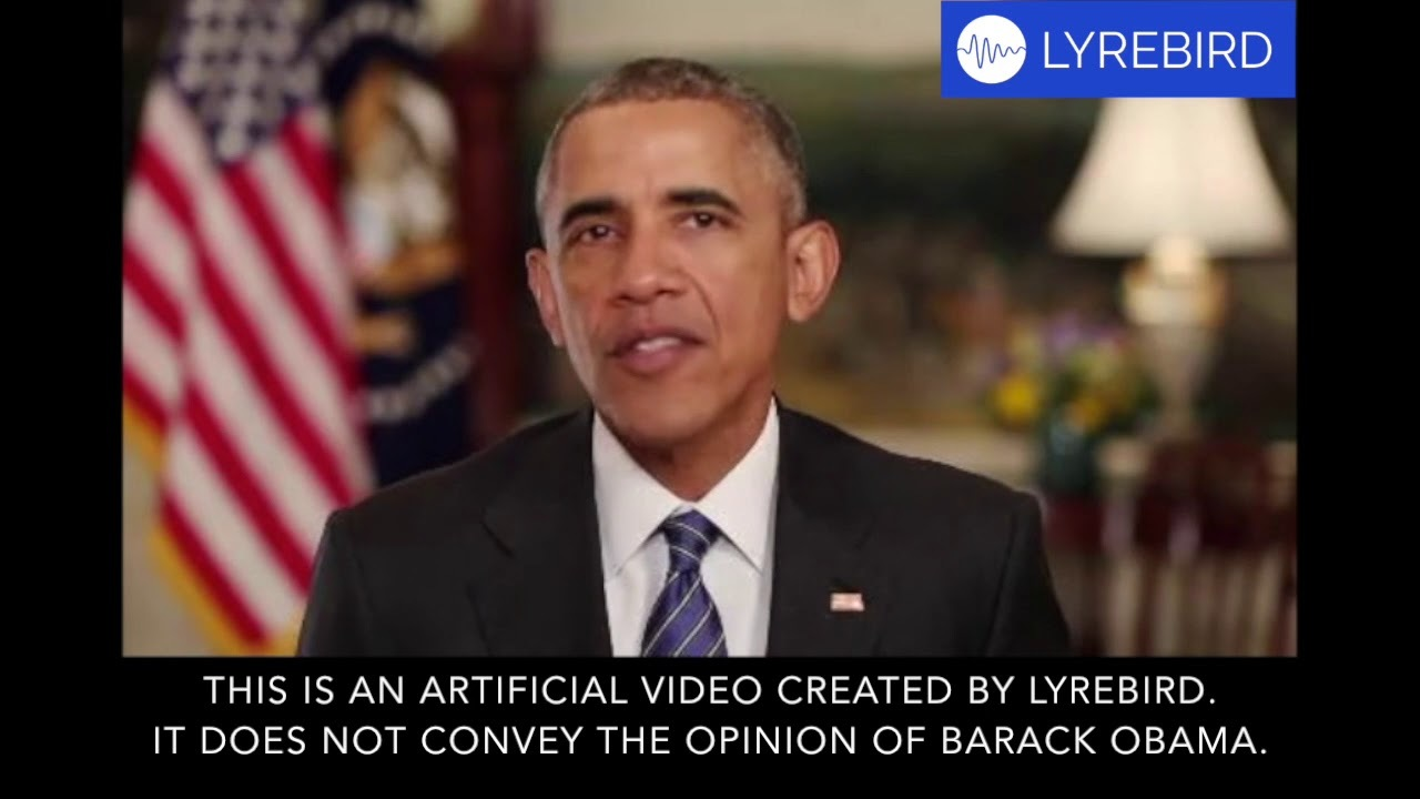オバマ元大統領も再現可能。AIが人の声を解析してセリフを喋る