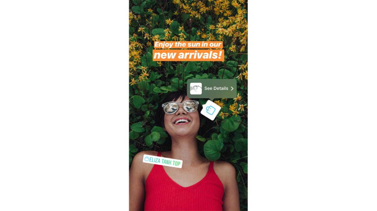 Instagram、フィードだけでなくストーリーズからも商品購入ができるように
