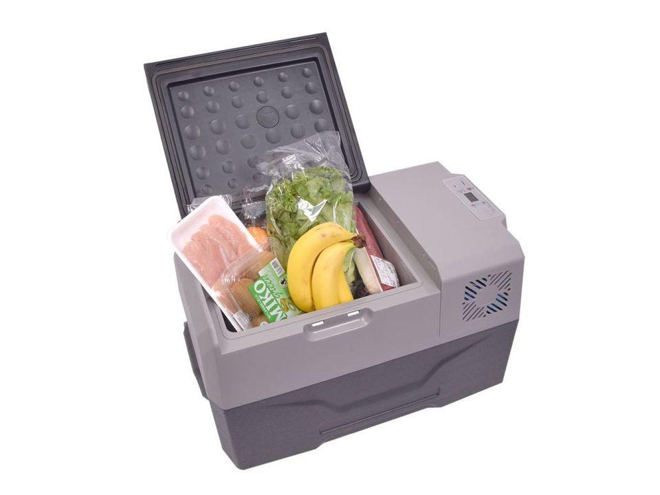 アイスや冷凍食品を持ち運べる30リットルのバッテリー式冷蔵冷凍庫