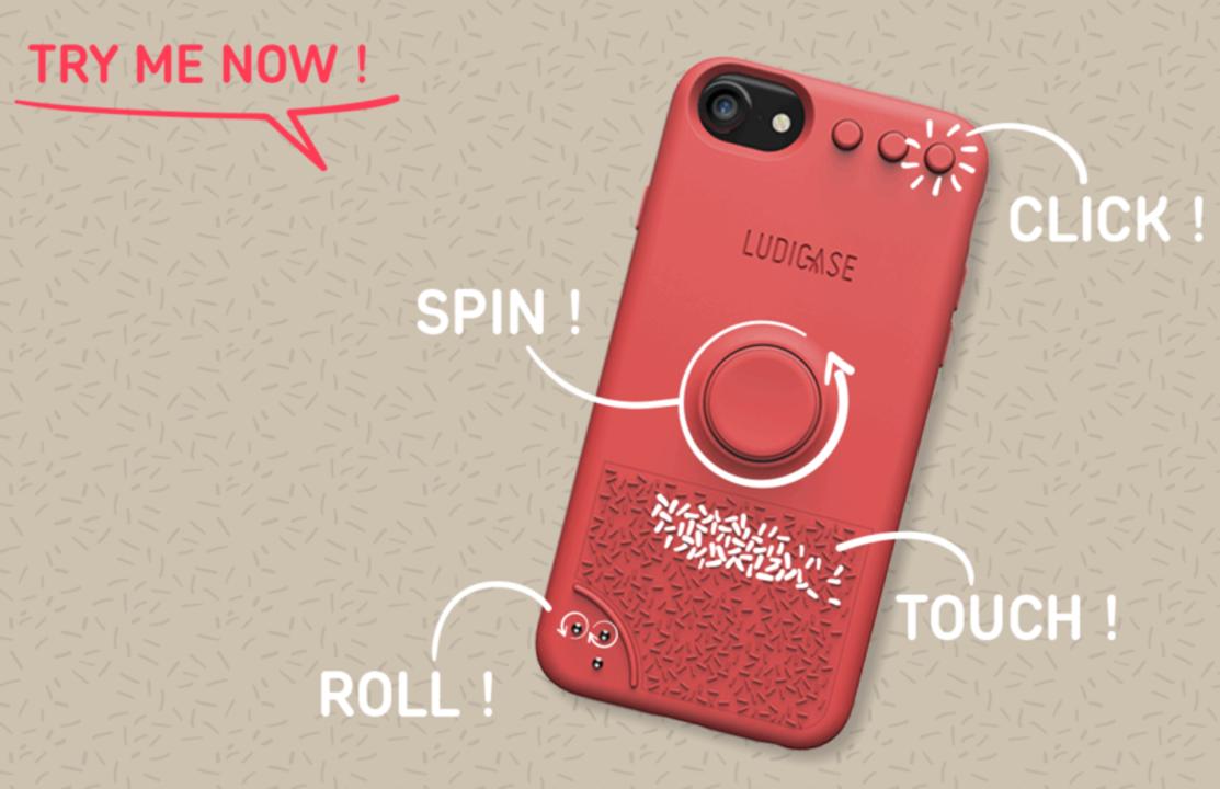 残り7日!フィジェット型iPhoneケース「LUDICASE」のキャンペーンが終了間近