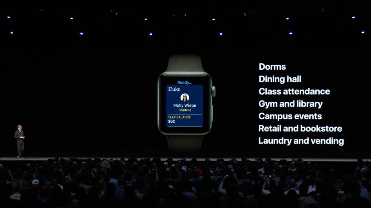 Apple Watchが学生IDカードになる時代、ついに到来