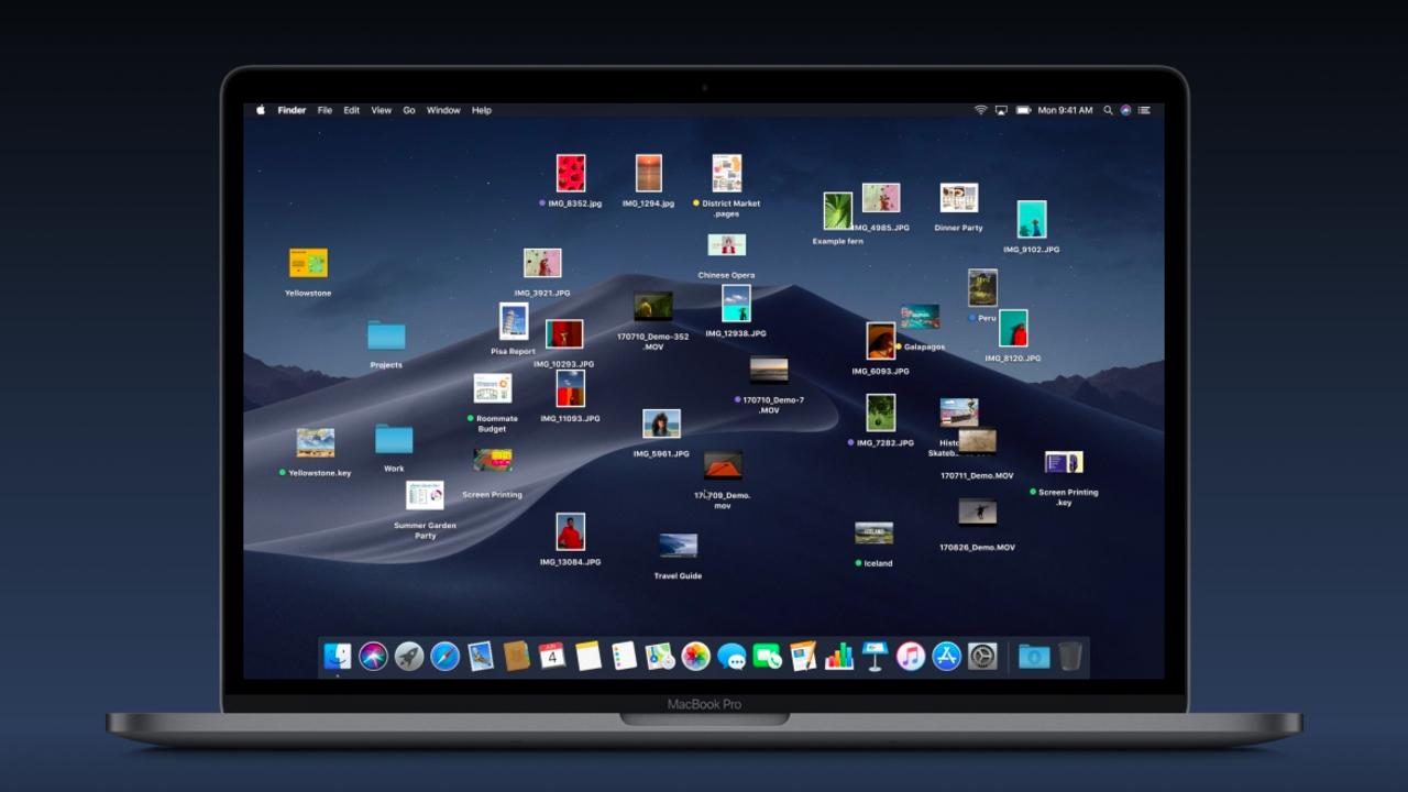 macOS Mojaveに隠し機能。デスクトップアイコンをぶちまけてくれます