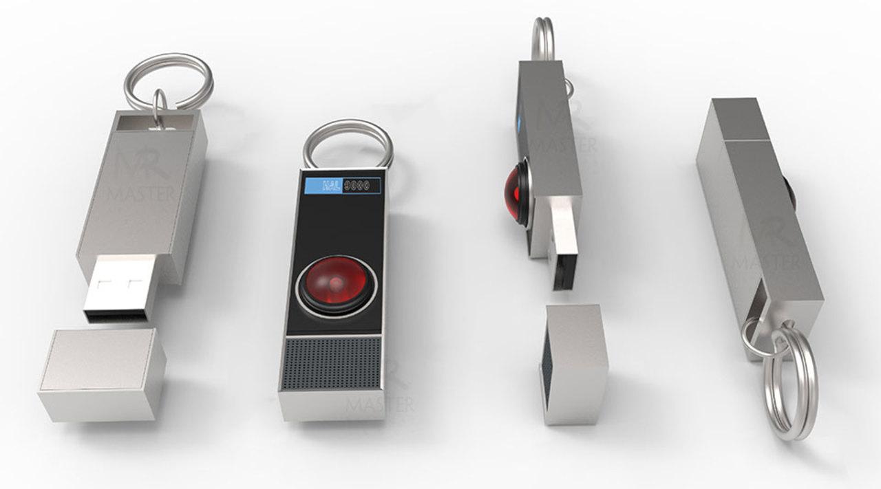 正常に動くはず!映画『2001年宇宙の旅』のHAL 9000型USBメモリ
