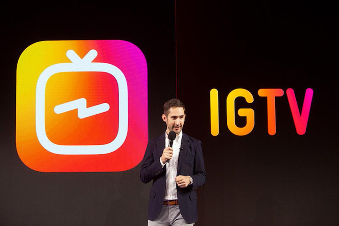 Instagramが、第2のアプリ「IGTV」を発表。ストーリーズがスピンオフだ!