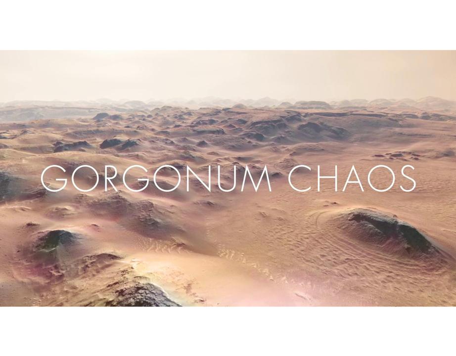 なんてリアルなんだ! 火星の実際の観測データをもとに作った再現映像