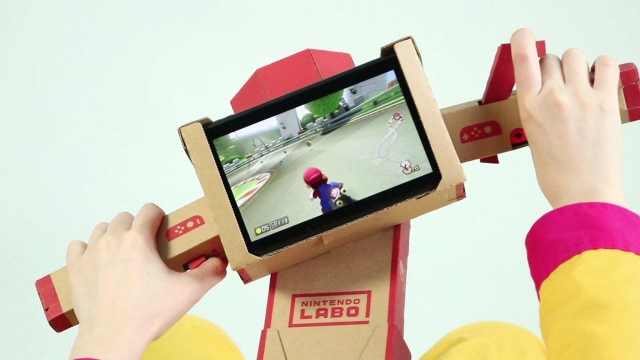 「Nintendo Labo」のToy-Conが『マリオカート8 デラックス』に対応。これだよ、これ!