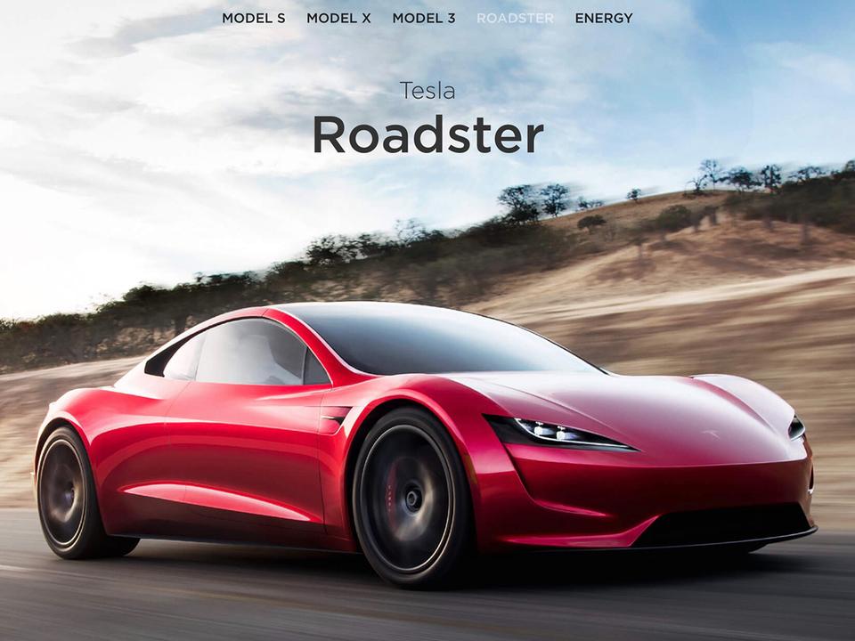 まさに武器。Teslaの新型ロードスター、公開したパフォーマンス数値は控え目なものらしい