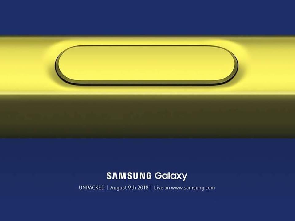 Samsung、Galaxyイベントを8月9日開催。新型Note 9に期待!