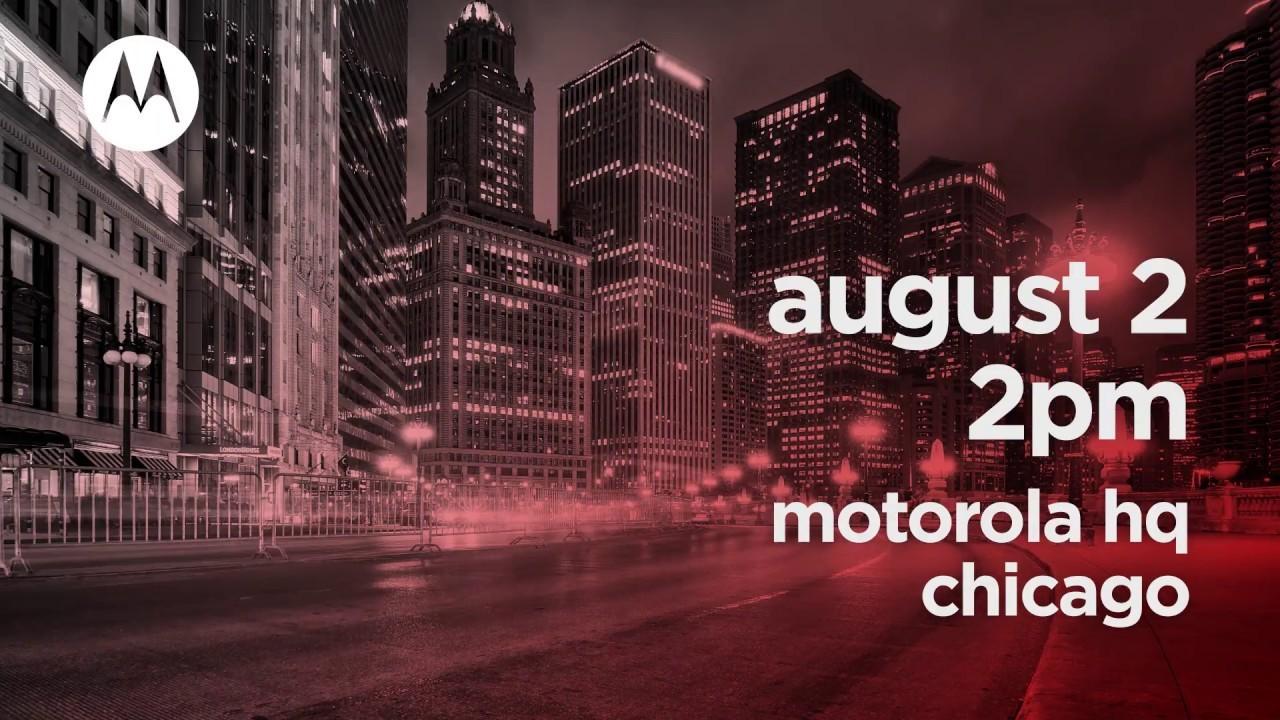 モトローラが8月2日に重大発表。「Moto Z3 Force」きちゃう?