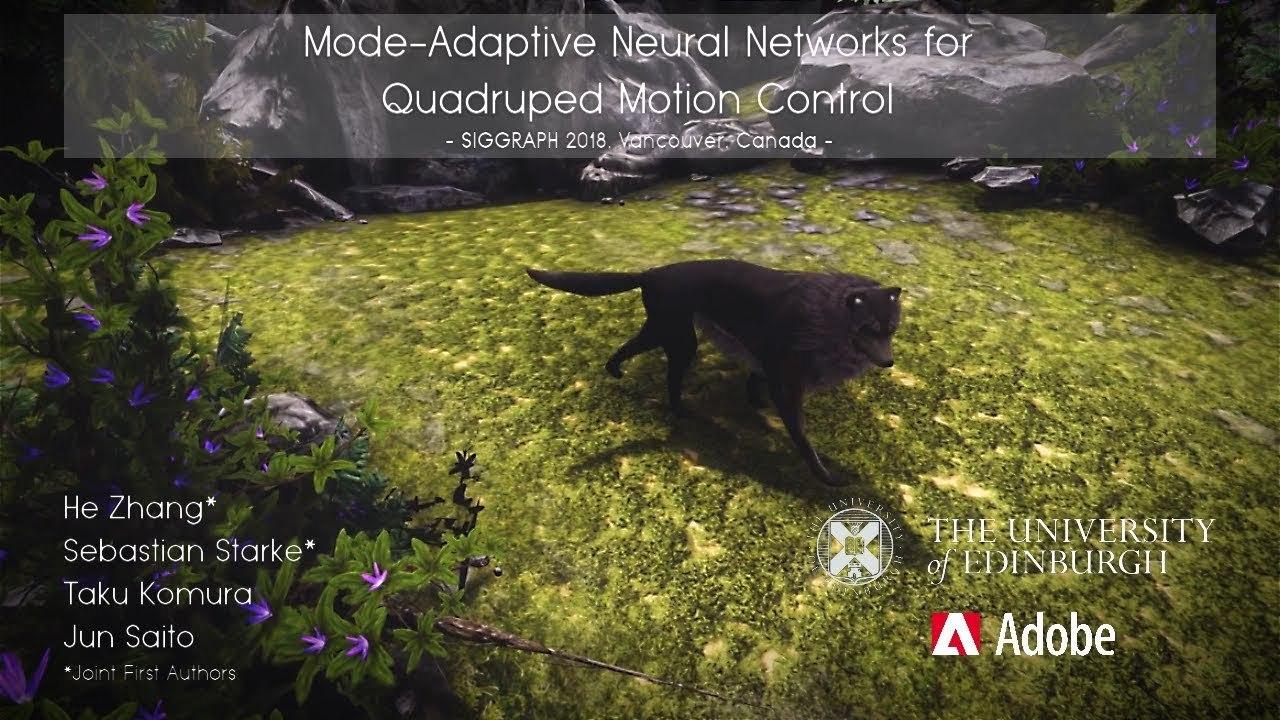 ARペットとして飼いたい、AIが動かす3DCGのリアルでかわいい狼