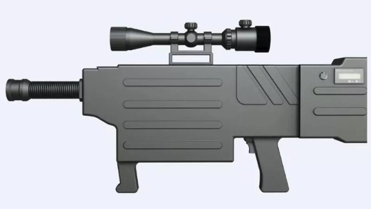 中国、ついに殺人レーザー光線銃の開発に成功。撃たれた皮膚は瞬時に炭化!