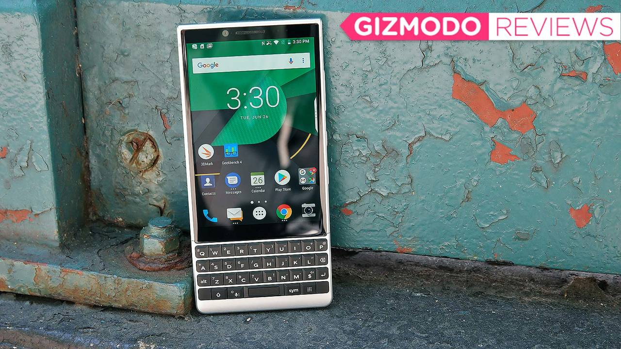 BlackBerry Key2レビュー:パワーアップした物理キーボードが輝く、割り切った性能のスマートフォン
