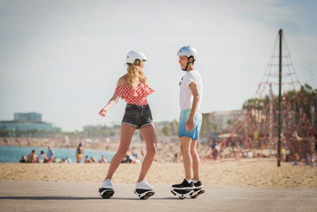 セグウェイがスケート型になった「Drift W1」