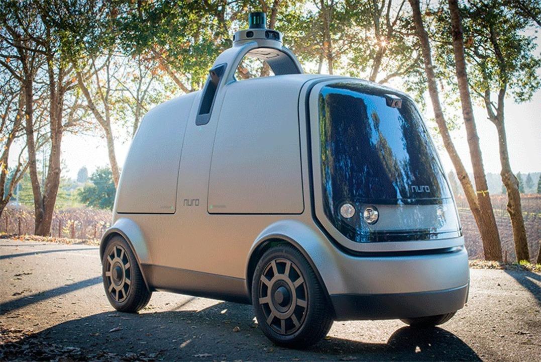 Google Waymoの元エンジニアが作る、自動運転で配達する無人コンセプトEV「nuro」