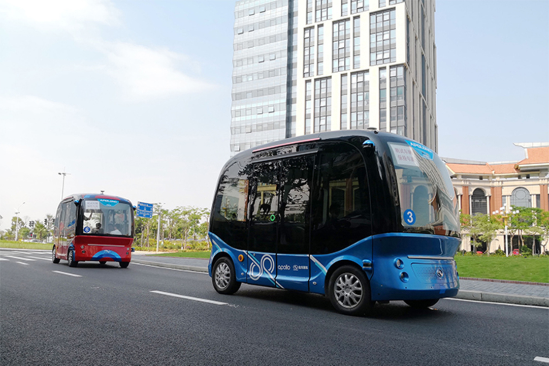 Baiduの自動運転バスが日本へ! ソフトバンクグループと協力体勢で日本仕様に