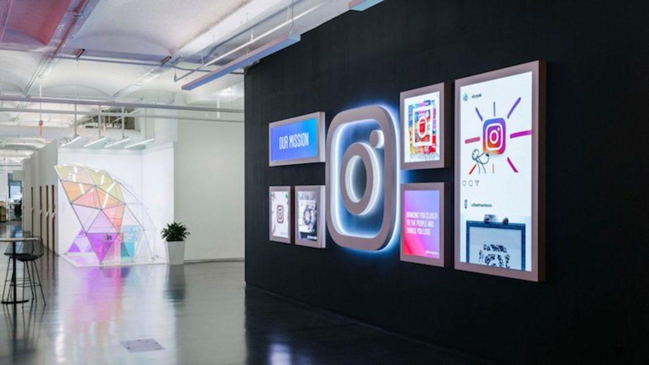 Instagramの新オフィスが、すっごくインスタ映えする!