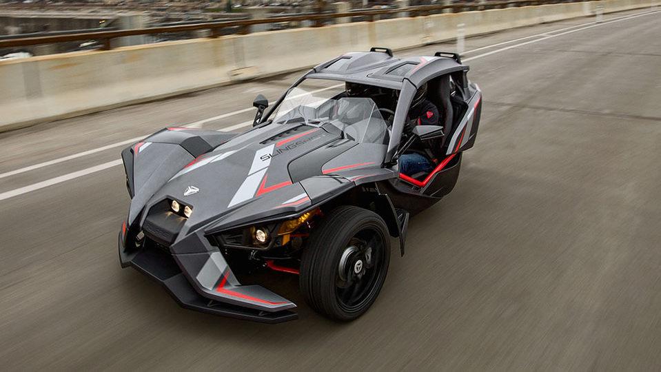 未来感あふれまくりの3輪自動車「polaris Slingshot」。全米でマニアックなファンが急増中