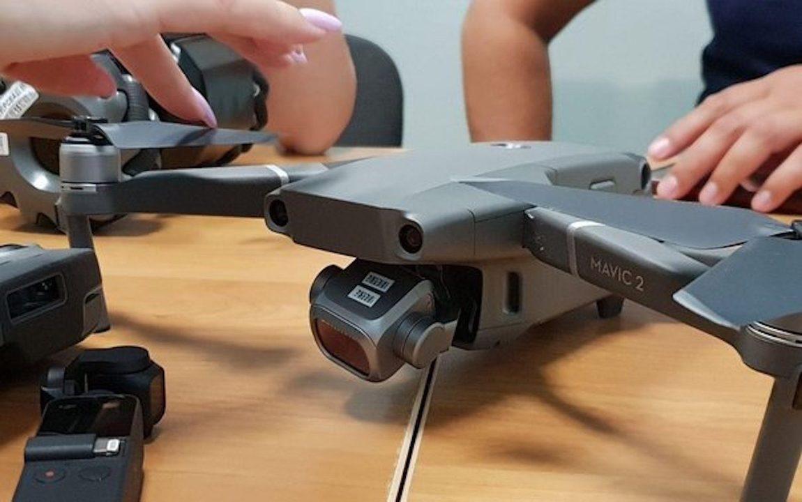 DJIの未発表ドローン「Mavic 2」は、もしかしてカメラ&ジンバル交換型?