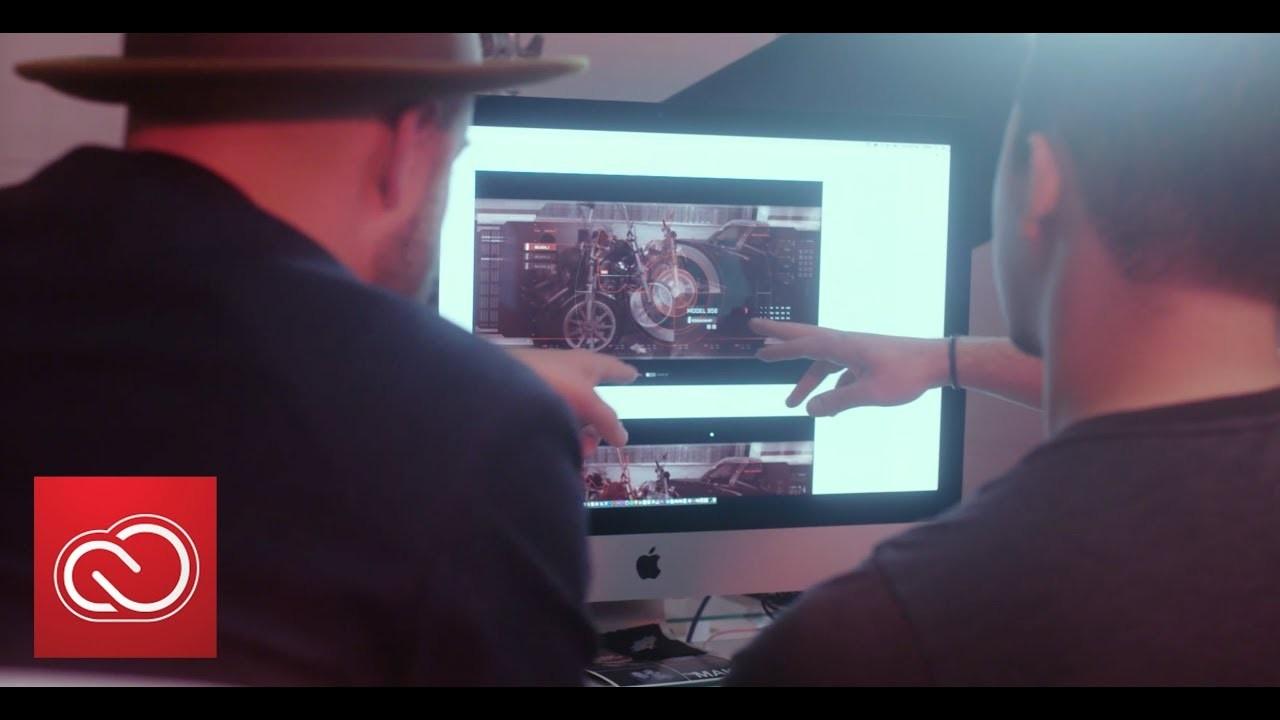 UI/UX作成ツール「Adobe XD」で、映画『ターミネーター2』T-800の目線を再現