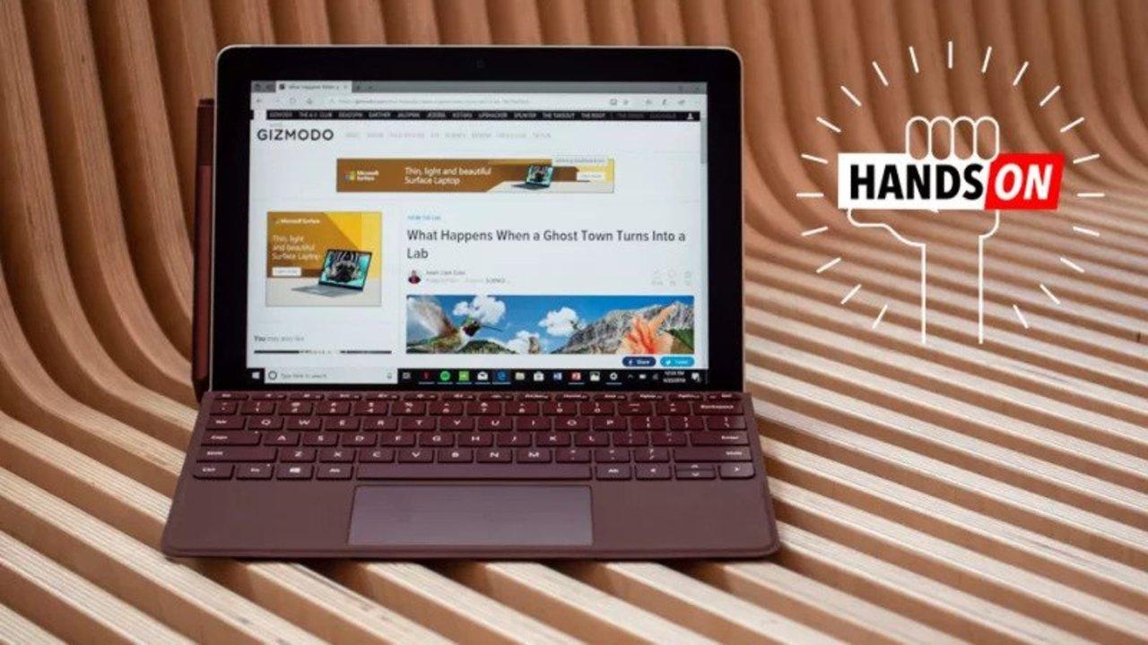 (海外からみた)Surface Go ハンズオン:安くて、小さくて、iPadを倒しうるタブレット