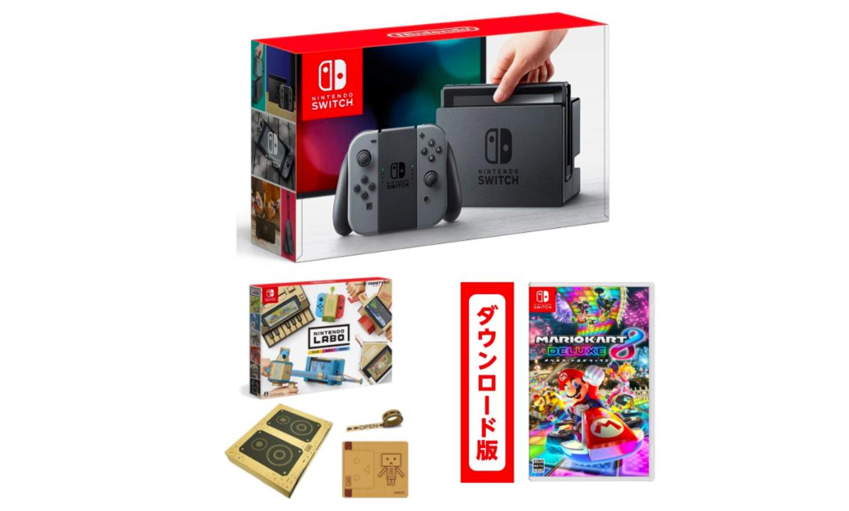 【Amazonプライムデー】タイムセールが続々登場! Nintendo Switchとソフトのセットや Fire TV Stickがお買い得に