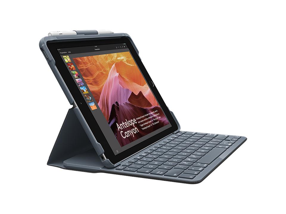iPadがラップトップ風になるロジクールのキーボードケース。Bluetooth LEで電池は4年間