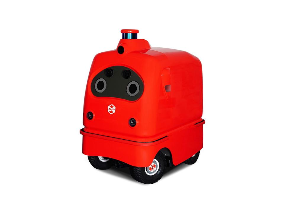 ラストワンマイルを担う国産の自走宅配ロボット「CarriRo Delivery」