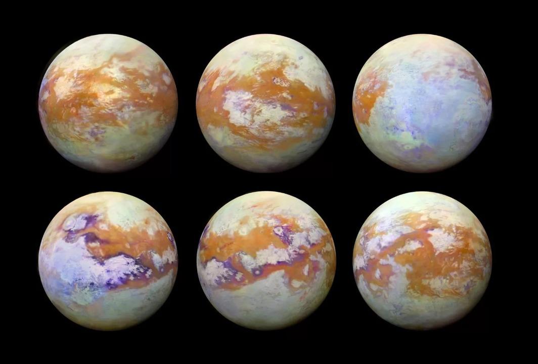 その素顔は美しい。メタンの嵐が吹き荒れる土星の月タイタンを赤外線カメラで撮影