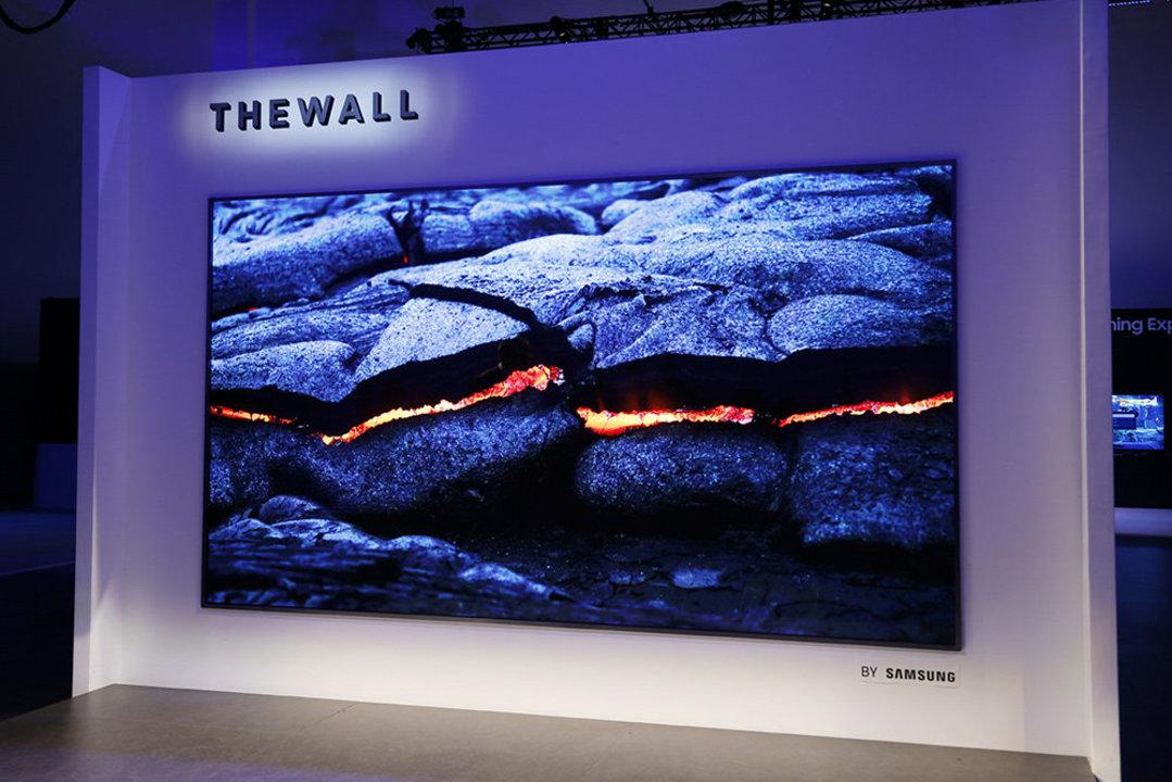 Samsungの壁みたいなテレビ「The Wall」この秋から生産、発売は来年?