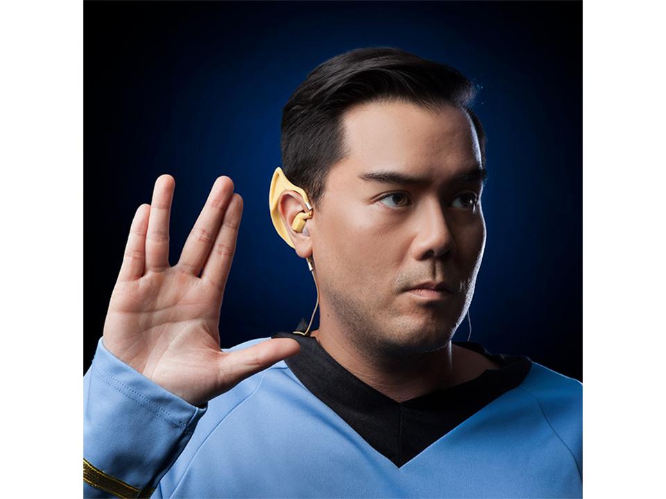 スタートレックのスポックの耳型ワイヤレスイヤホン発売。しかも公式ライセンスというね