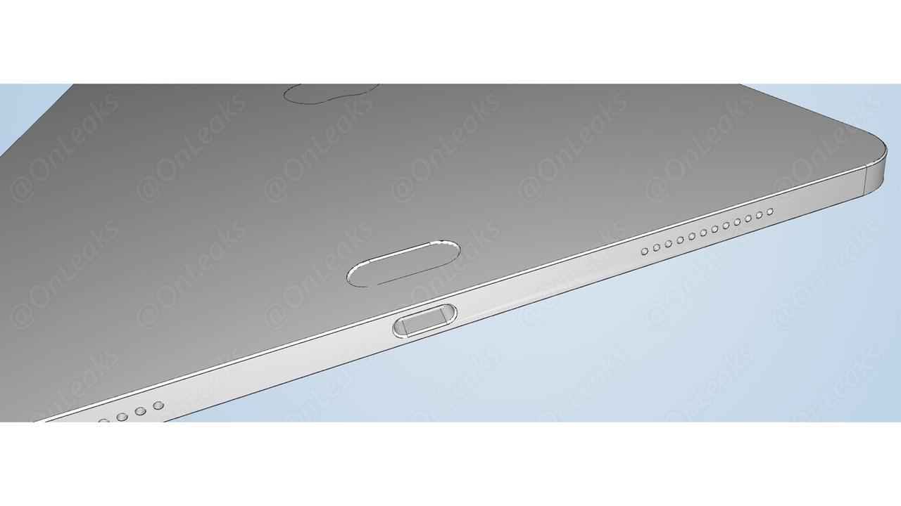 新型iPad Proの3Dデータが流出? 背面の謎のくぼみに、新エッジ加工も
