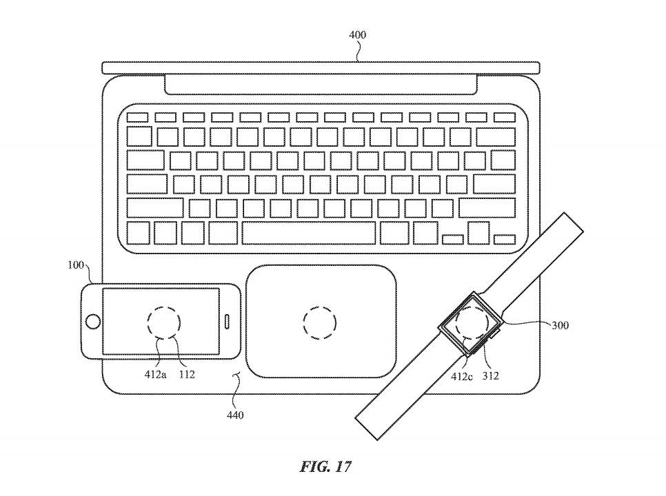 MacBookやiPad、iPhone「から」ワイヤレス充電ができる特許