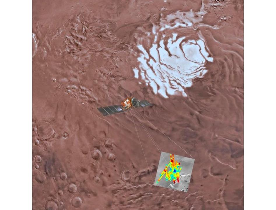 火星の地下深くに、塩湖があるかもしれない