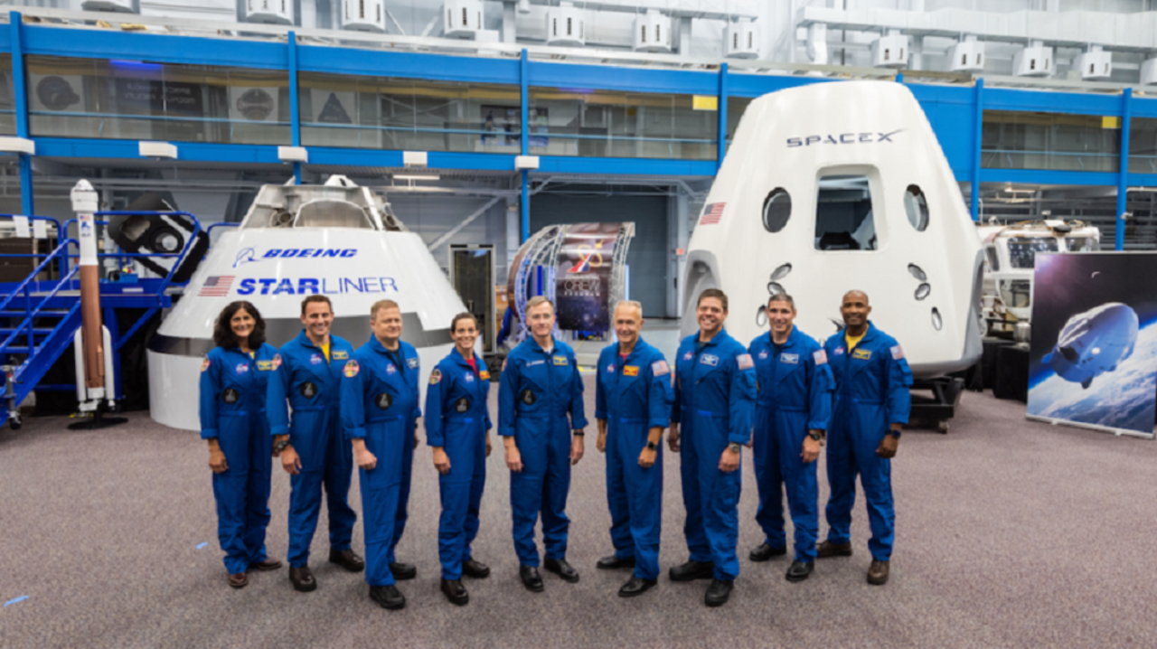 NASA初。民間宇宙船に搭乗する宇宙飛行士9人を発表