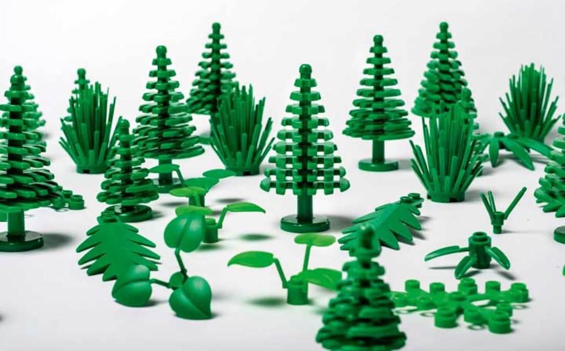 本物の植物から作ったLEGOの植物ブロック、販売開始