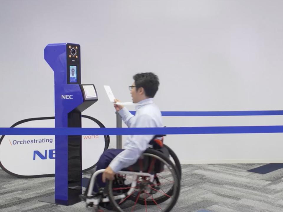 セキュリティもスピードも期待。NECが東京五輪で活用予定の顔認証システム