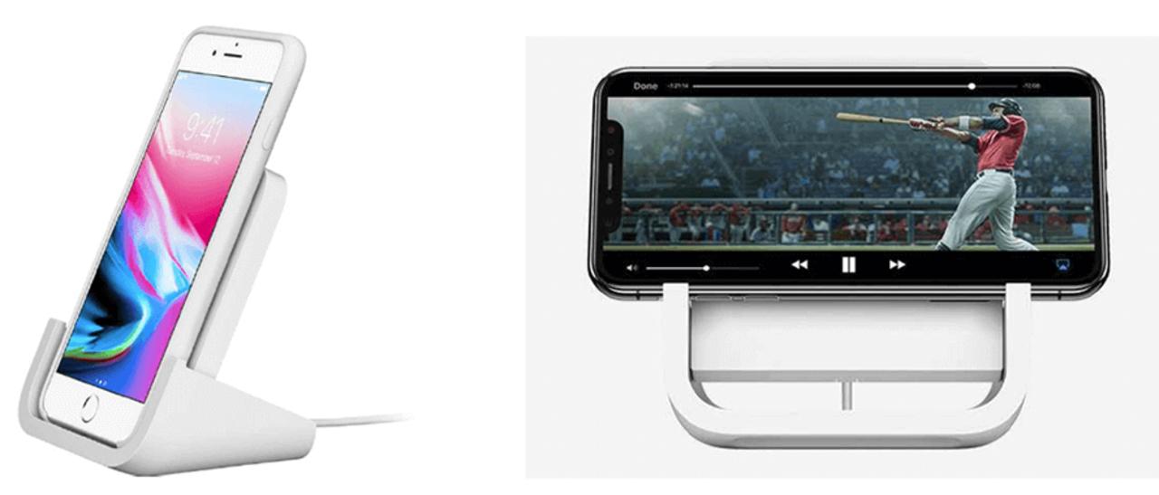 iPhoneをスマートディスプレイっぽく使えるワイヤレス充電スタンド