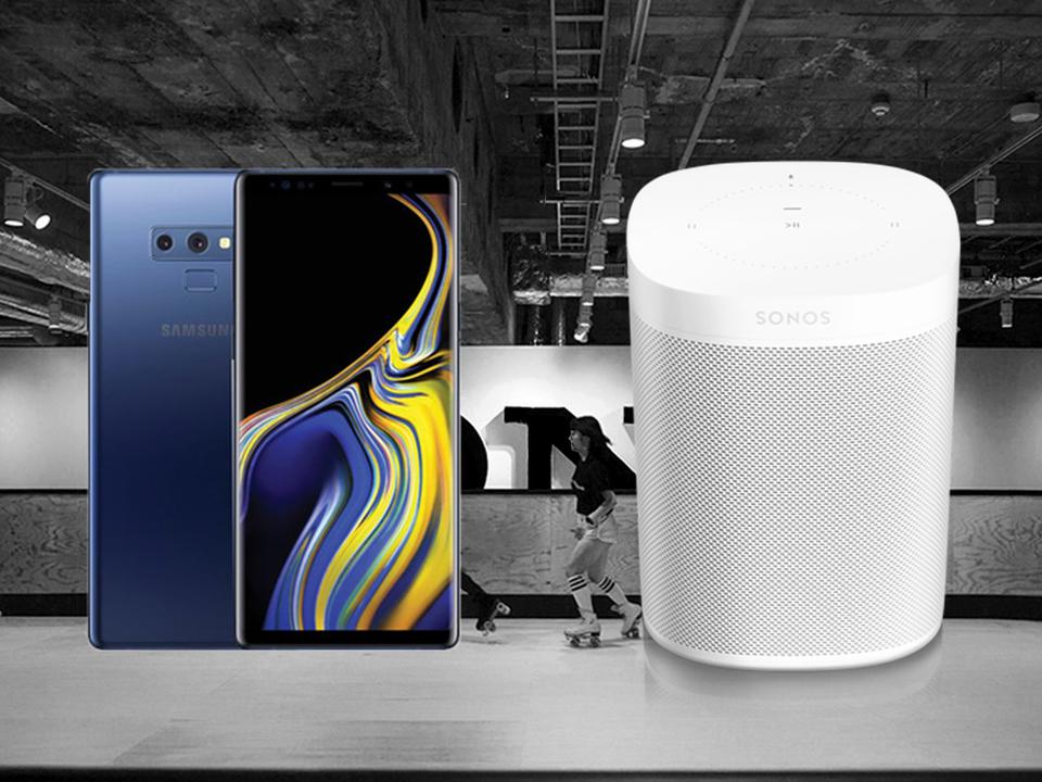今日のGIZMODO TVはてんこ盛り。Galaxy Note9のホカホカ情報、Sonos Oneの実機インプレッション、Ginza Sony Parkの体験レポート!