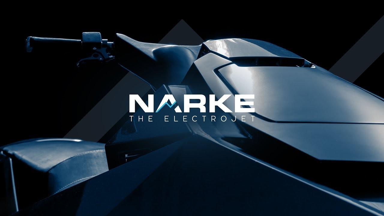 水上バイクにもEVの波が!角ばったボディーが未来的な「NARKE エレクトロジェット」