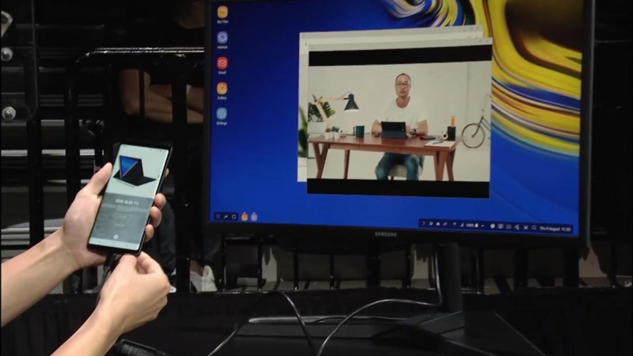 ストレージ512GB+メモリ8GBでデスクトップ風操作。Galaxy Note9もうこれパソコンじゃん?