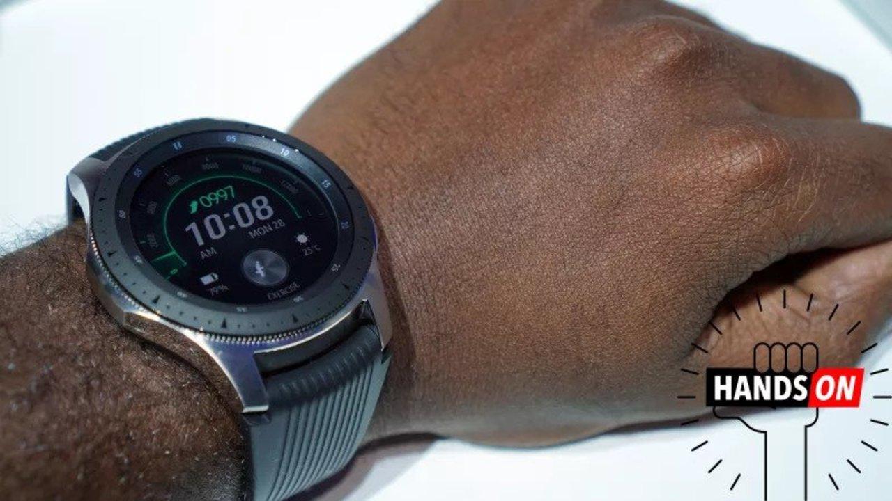 Galaxy Watch ハンズオン:LTE対応だし、回転ベゼルもGOOD! でも、ちょっと大きいかも