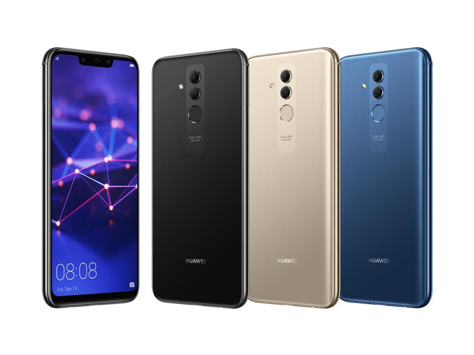 Huaweiの次世代スマホ「Mate 20 Lite」らしき画像リーク。ノッチありでカメラが前後で4つ?