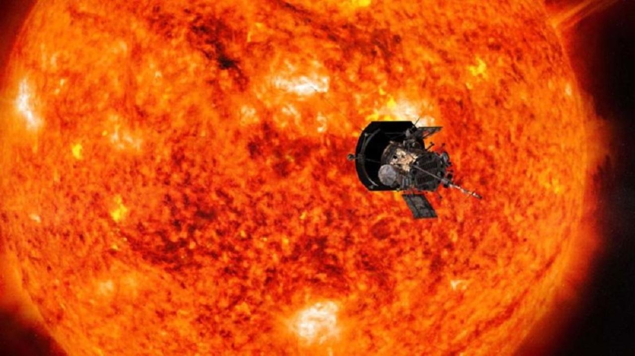 NASAの探査機パーカーが、灼熱に...