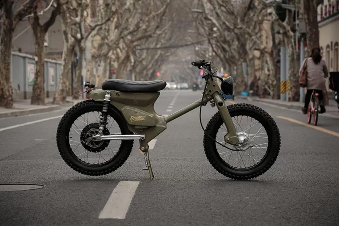 ホンダ「スーパーカブ」をEVに生まれ変わらせた上海のバイク屋さん