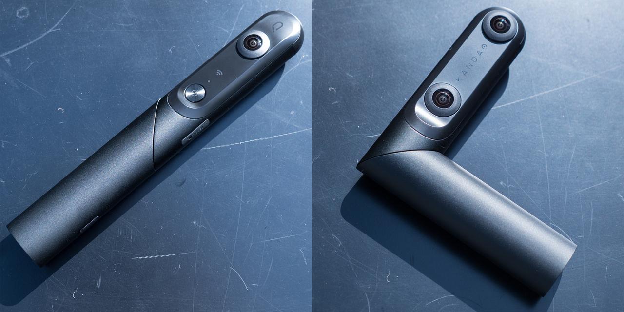 QooCam ハンズオン:一台で二度おいしいトランスフォームカメラ